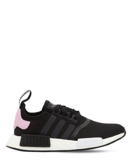 "Adidas Originals - Black Sneakers ""nmd R1"" - Lyst"