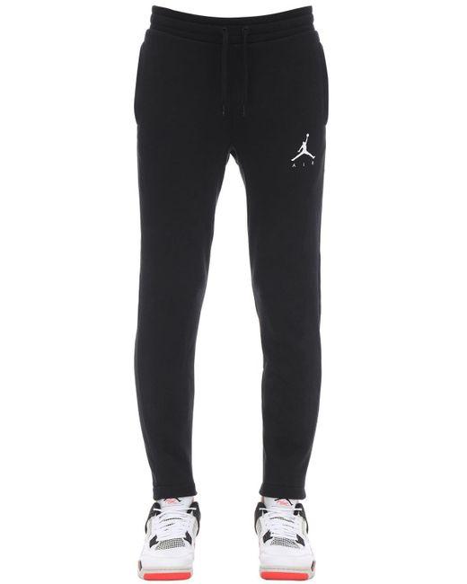 メンズ Nike Air Jordan コットンブレンドスウェットパンツ Black