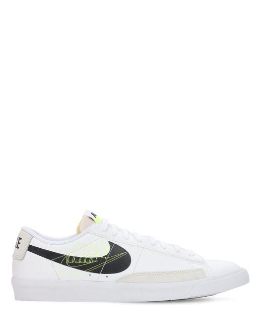 Кроссовки Blazer Low Nike для него, цвет: White