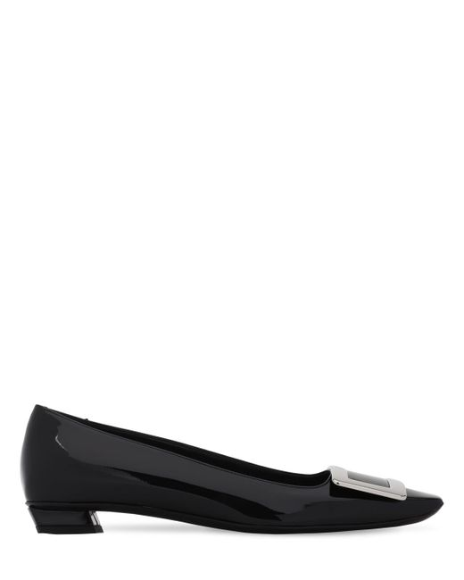 """Туфли """"belle Vivier"""" Из Лакированной Кожи 25mm Roger Vivier, цвет: Black"""