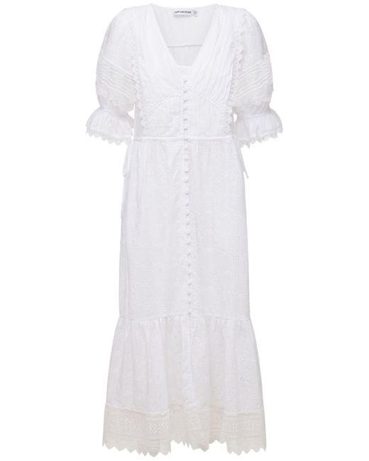 Self-Portrait Floral ドレス White