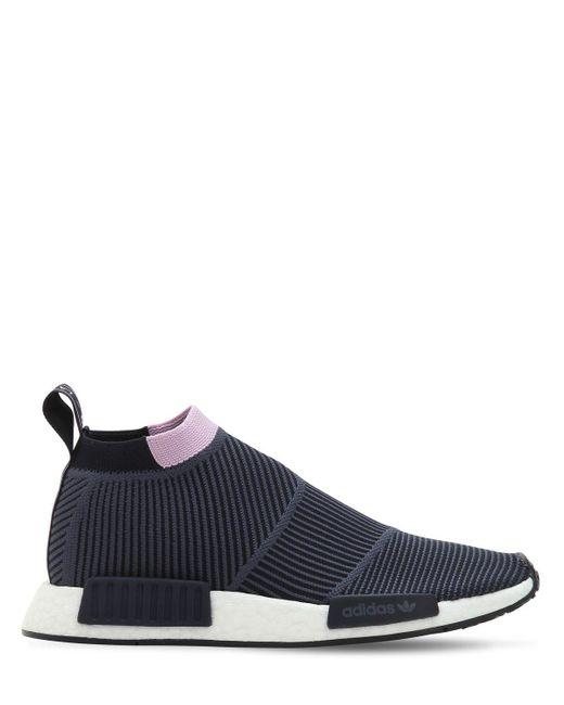 """Кроссовки """"nmd Cs1"""" Из Primeknit Adidas Originals, цвет: Gray"""