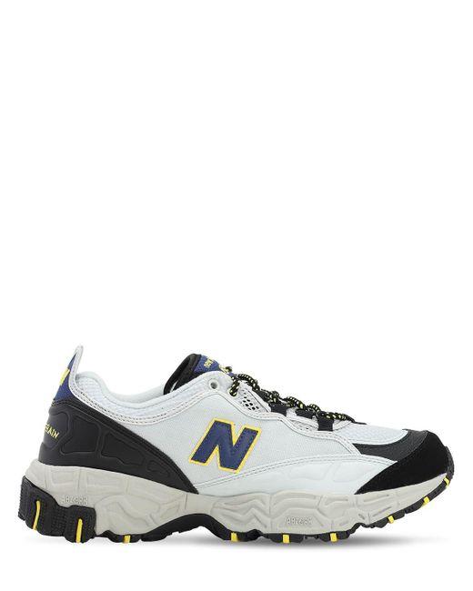 New Balance Leather 801 Nubuck Sneakers