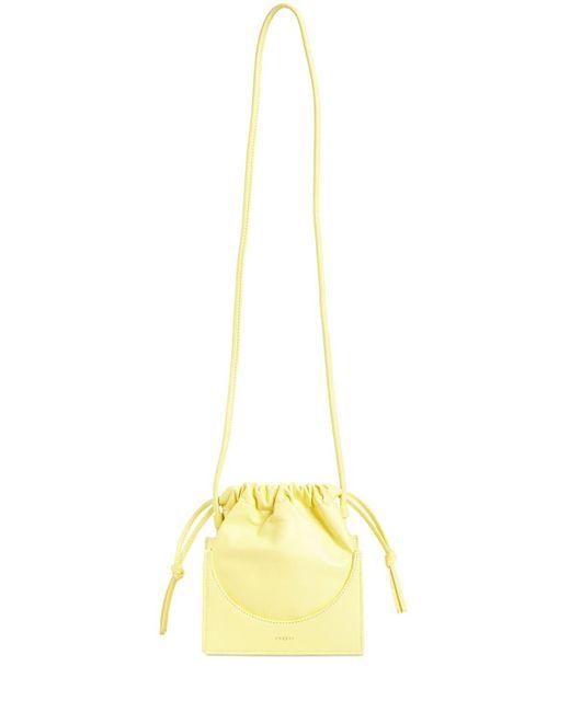 Кожаная Сумка Pouchy Yuzefi, цвет: Yellow