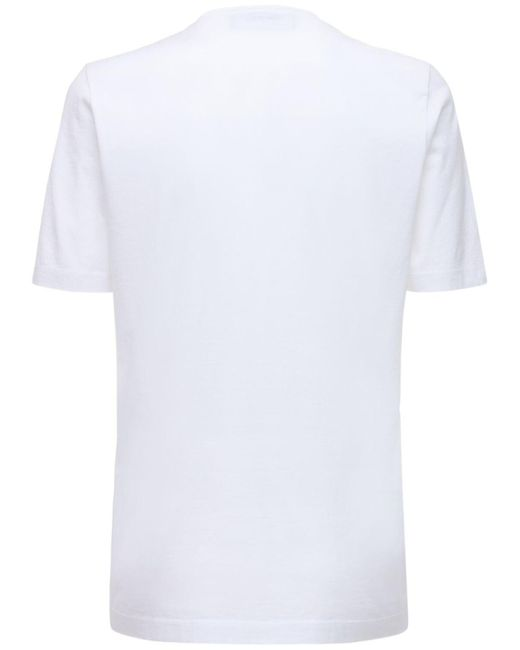 DSquared² Renny Fit ジャージーtシャツ White