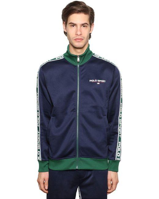 メンズ Polo Ralph Lauren テクノスウェットシャツ Blue