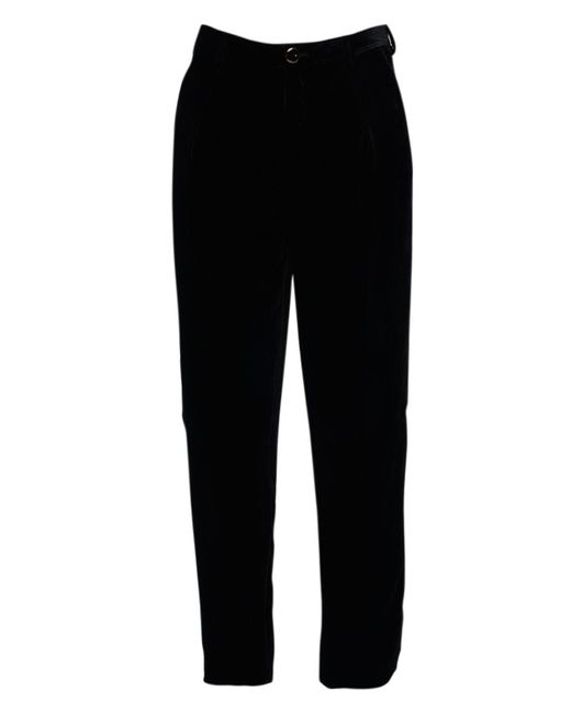 Pantalones De Terciopelo 17cm Saint Laurent de hombre de color Black
