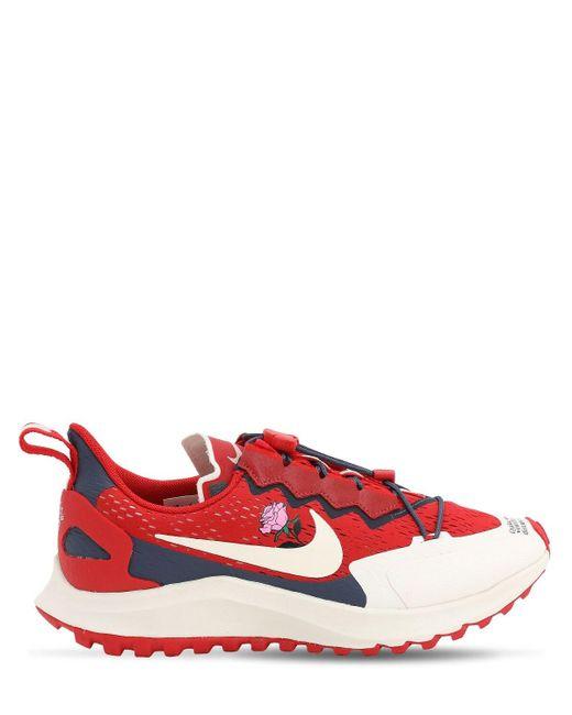 メンズ Nike Zoom Pegasus 36 Tr / Gyakusou スニーカー Red