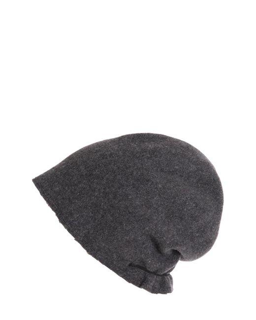 Scha - Gray Taiga Long Wool Beanie Hat - Lyst
