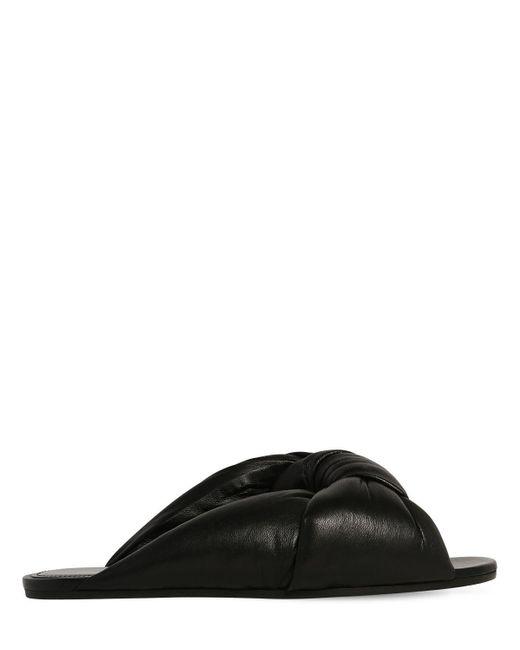 Кожаные Туфли-мюли 10mm Balenciaga, цвет: Black