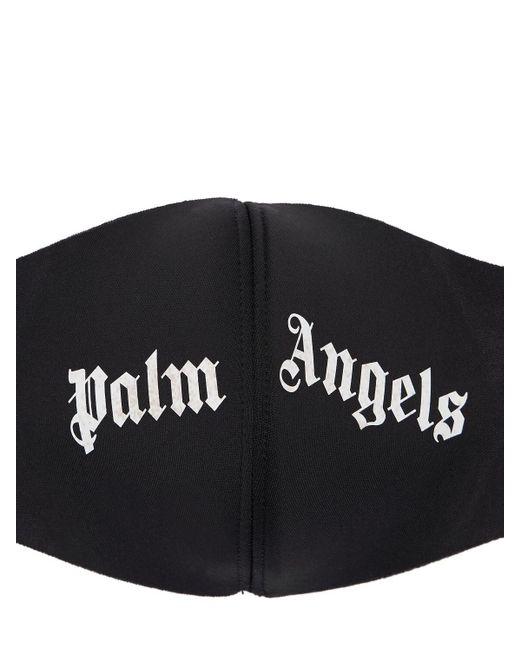 メンズ Palm Angels プリントテックマスク Black