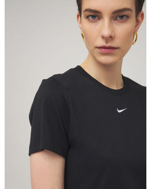 Nike コットンtシャツ Black