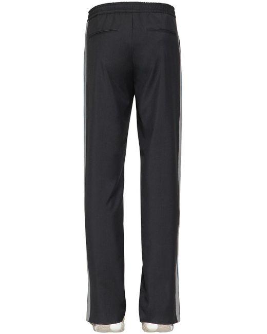 メンズ Valentino ウール&モヘアパンツ Gray