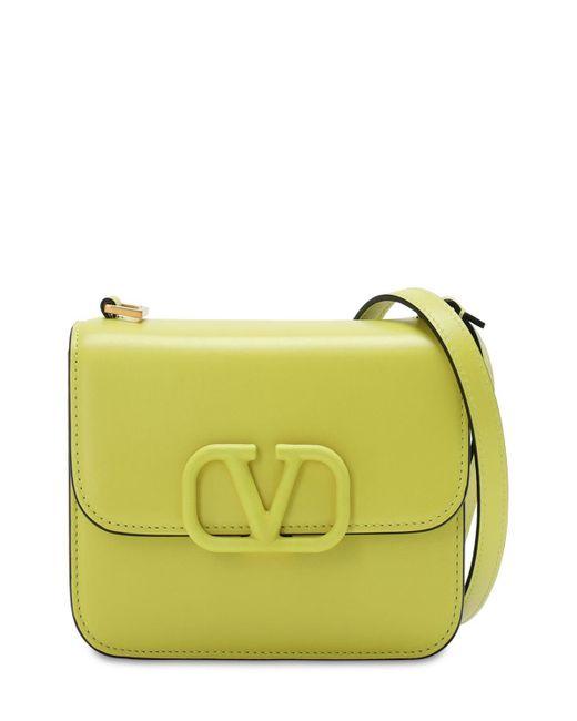 """Кожаная Сумка """"vsling"""" Valentino Garavani, цвет: Yellow"""