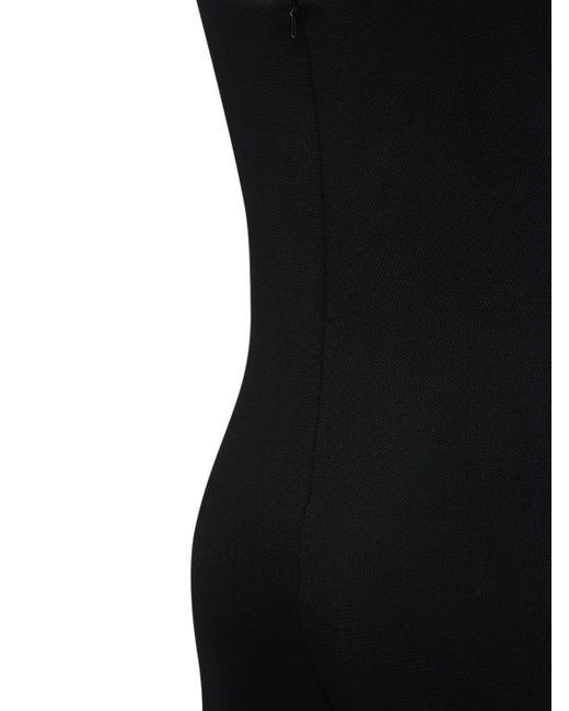 Area Cat クリスタルストラップスーツ Black