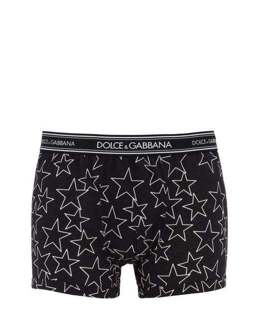 メンズ Dolce & Gabbana コットンボクサー Black
