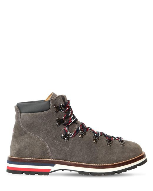 Moncler Multicolor Peak Suede Lace-up Boots for men