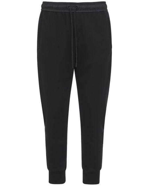 メンズ Dolce & Gabbana コットンブレンドスウェットパンツ Black