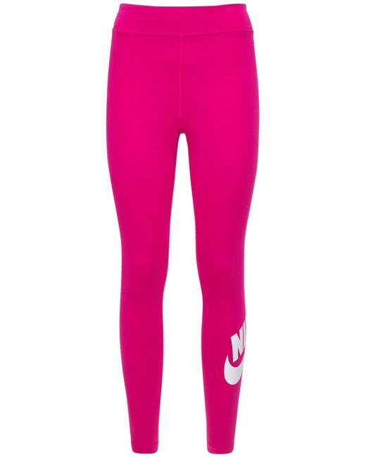 Nike ハイライズレギンス Pink