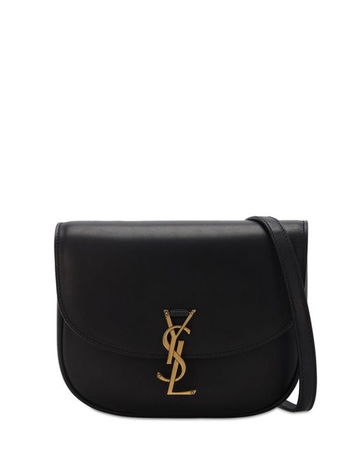 Кожаная Сумка Kaia Saint Laurent, цвет: Black