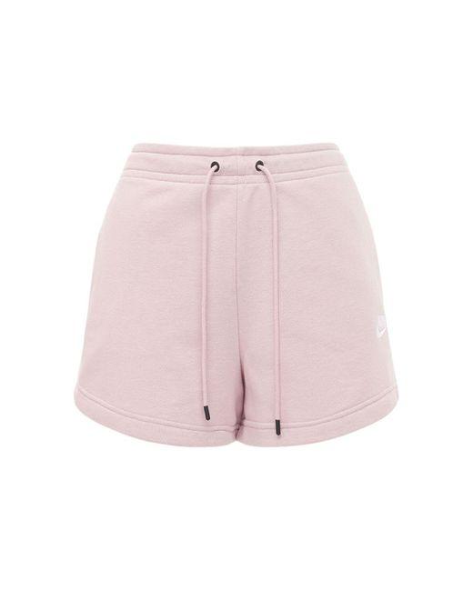 Nike フレンチテリースウェットショートパンツ Pink