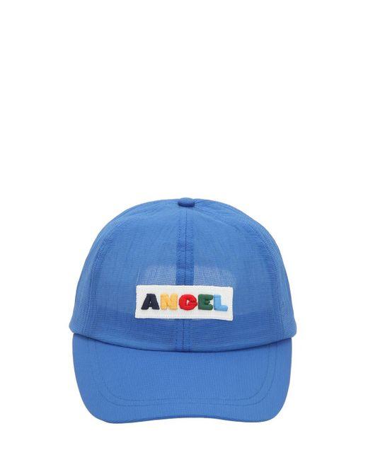 Angel Chen ロゴパッチ帽 Blue