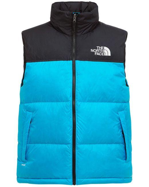Жилет На Пуху Из Нейлона 1996 Retro Nupste The North Face для него, цвет: Blue