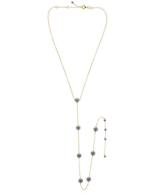 FEDERICA TOSI - Metallic Silver Ball Necklace - Lyst