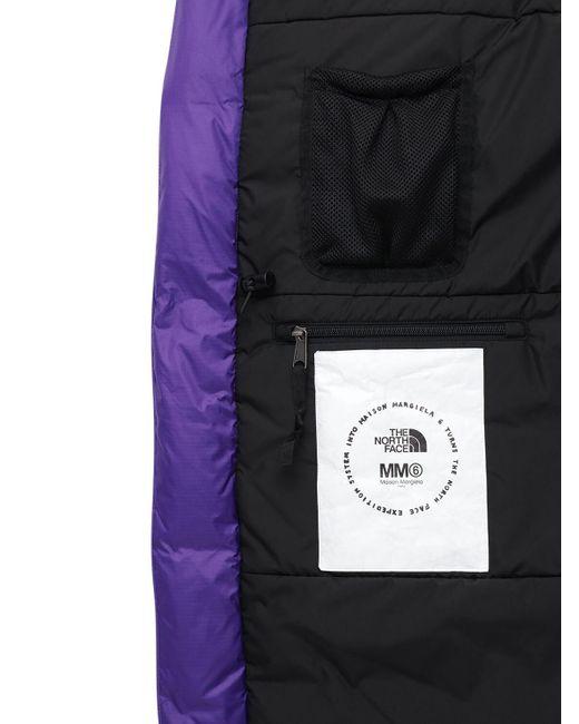 MM6 by Maison Martin Margiela Northface X Mm6 サークルダウンジャケット Purple