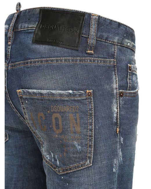 DSquared² Icon Cool デニムスキニージーンズ Blue