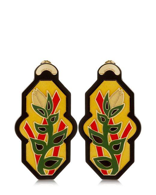 Anna E Alex | Yellow Brasile Earrings | Lyst