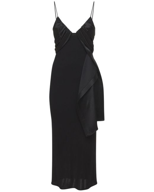 1017 ALYX 9SM Foulard フォーマルビスコースドレス Black
