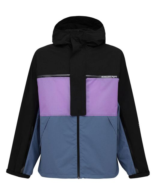 """Куртка Из Нейлона """"fragment Warren"""" Moncler Genius для него, цвет: Purple"""