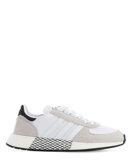 Adidas Originals Marathon テックスニーカー White