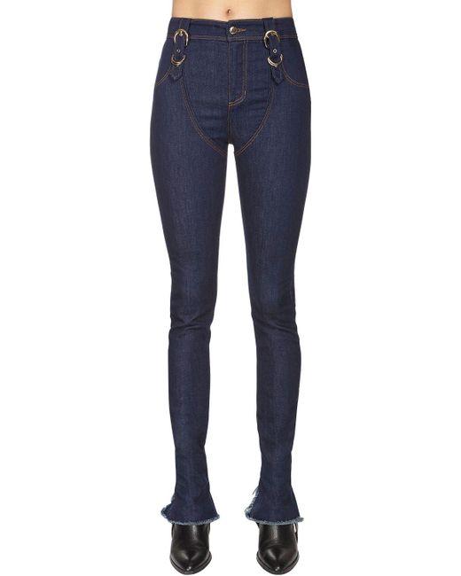 Versace Jeans コットンデニムジーンズ Blue