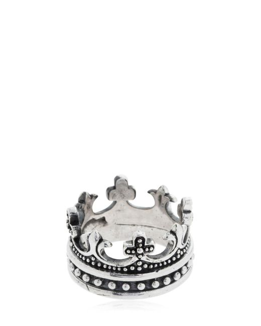 "Anillo ""crown"" Cantini Mc Firenze de hombre de color Metallic"