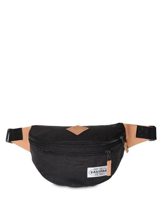 Eastpak 3.5l Bundel ナイロンキャンバスベルトバッグ Black
