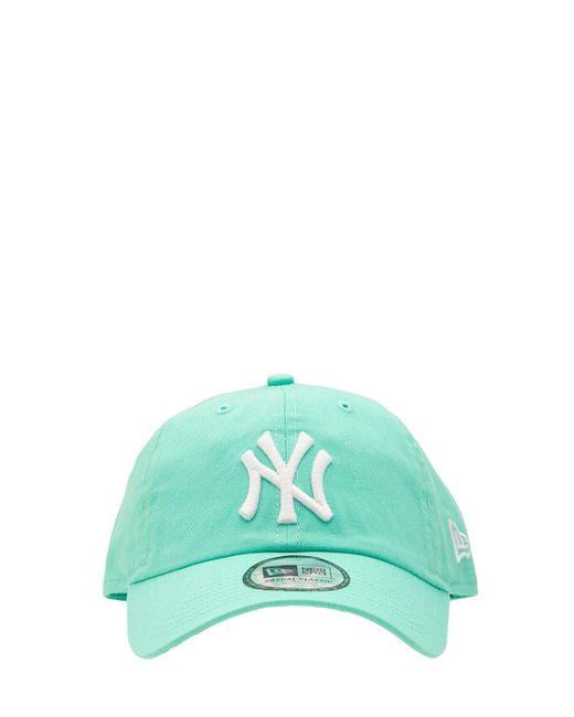 KTZ Green Washed Ny Yankees 9twenty Baseball Hat for men