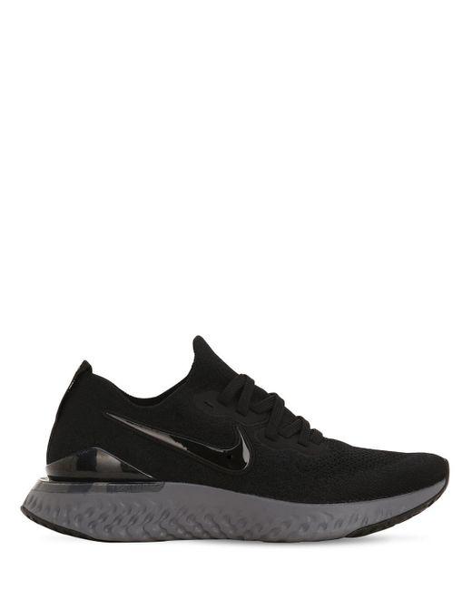 Nike Epic React Flyknit 2 スニーカー Black