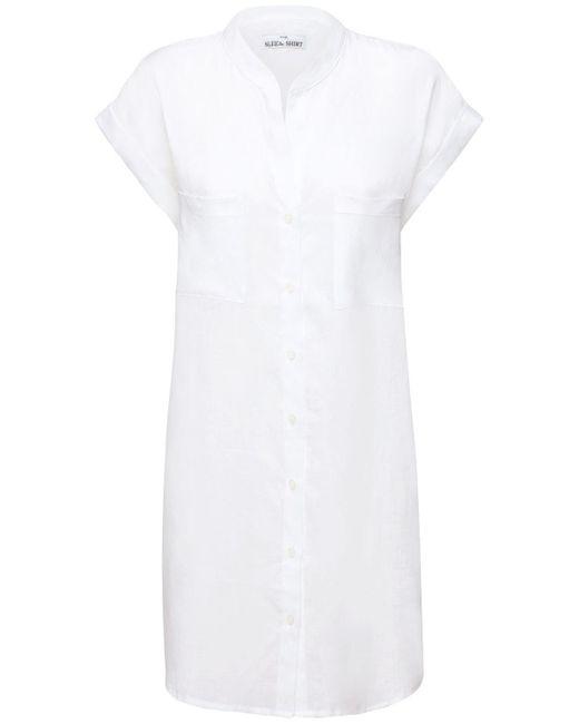 Ночная Рубашка Из Льна The Sleep Shirt, цвет: White