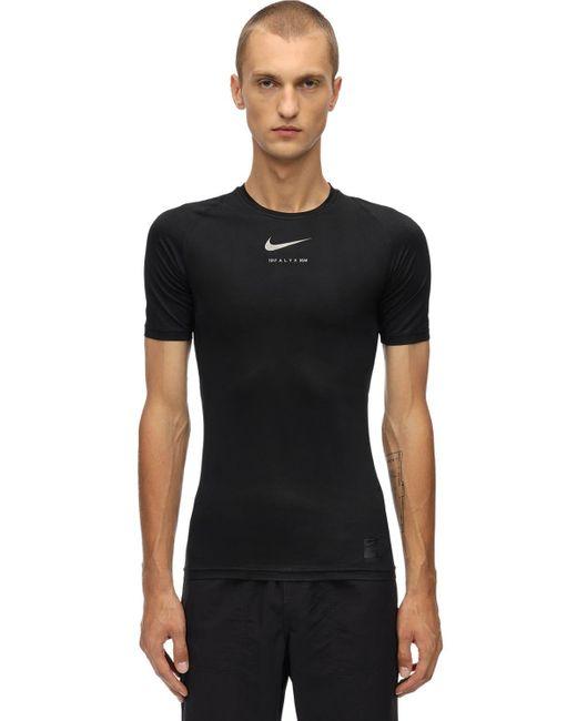 メンズ 1017 ALYX 9SM Nike テクノtシャツ Black