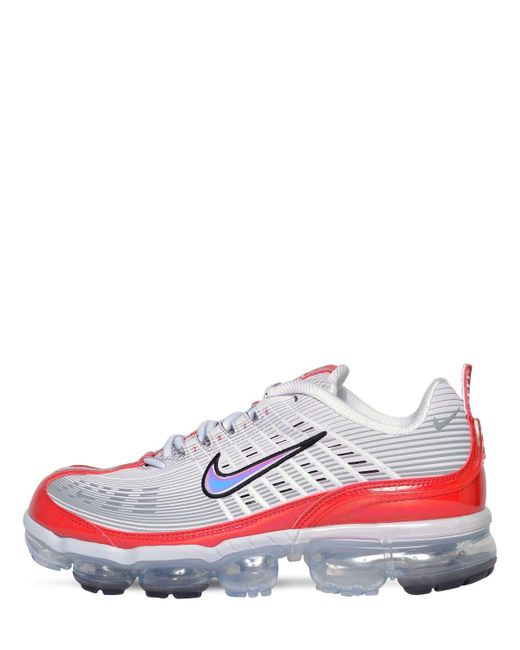 Серые Кроссовки Air Vapormax 360-серый Nike для него, цвет: Blue