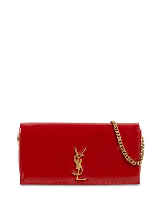 Сумка Из Лаковой Кожи Kate 99 Saint Laurent, цвет: Red