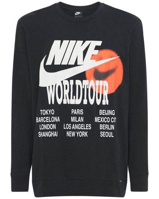 メンズ Nike World Tour Tシャツ Black