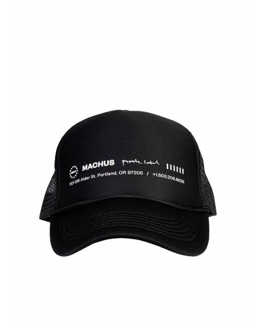MACHUS private label Black Alder Trucker for men