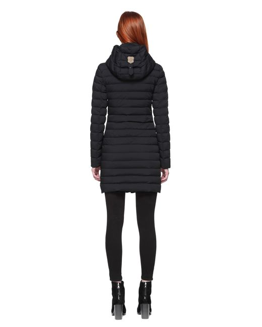 Mackage Calna Mid Thigh Length Quilted Lightweight Coat In