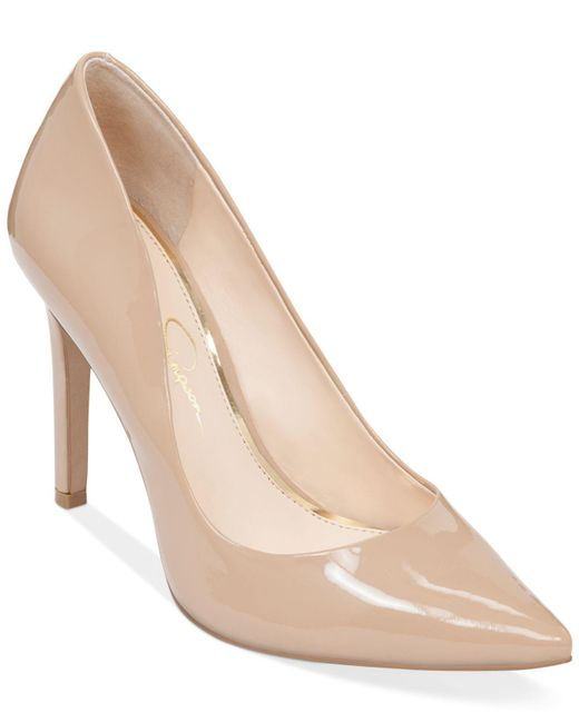 Jessica Simpson - Natural Cassani Pumps, Created For Macy's - Lyst