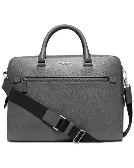 Michael Kors - Gray Men's Medium Briefcase for Men - Lyst