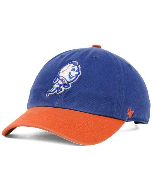 d9189c64ebb66 47 Brand - Natural New York Mets Clean Up Cap for Men - Lyst ...