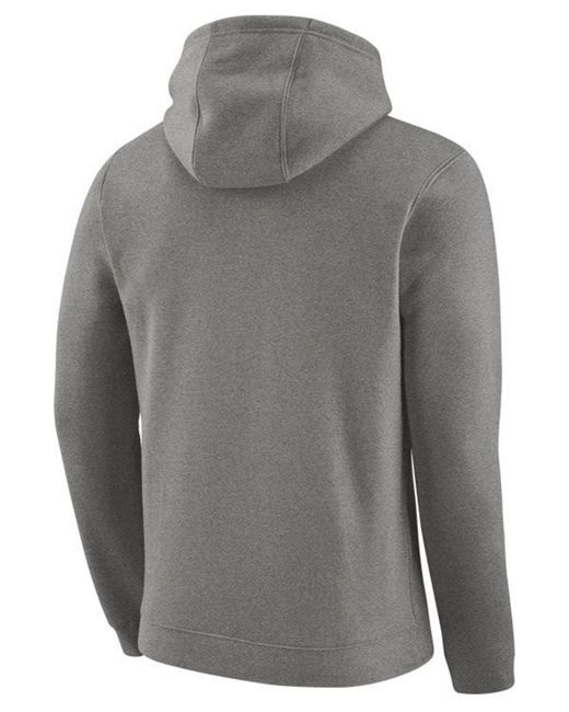 ddaa72448bb ... Nike - Gray Golden State Warriors Earned Edition Logo Essential Hoodie  for Men - Lyst